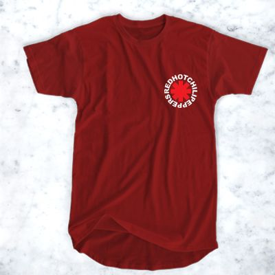 awesome Red Hot Chili Peppers Pocket Logo T-Shirt for Men and Women