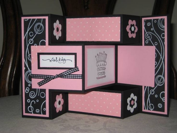 Best TriFold Cards Images On   Card Making Kits