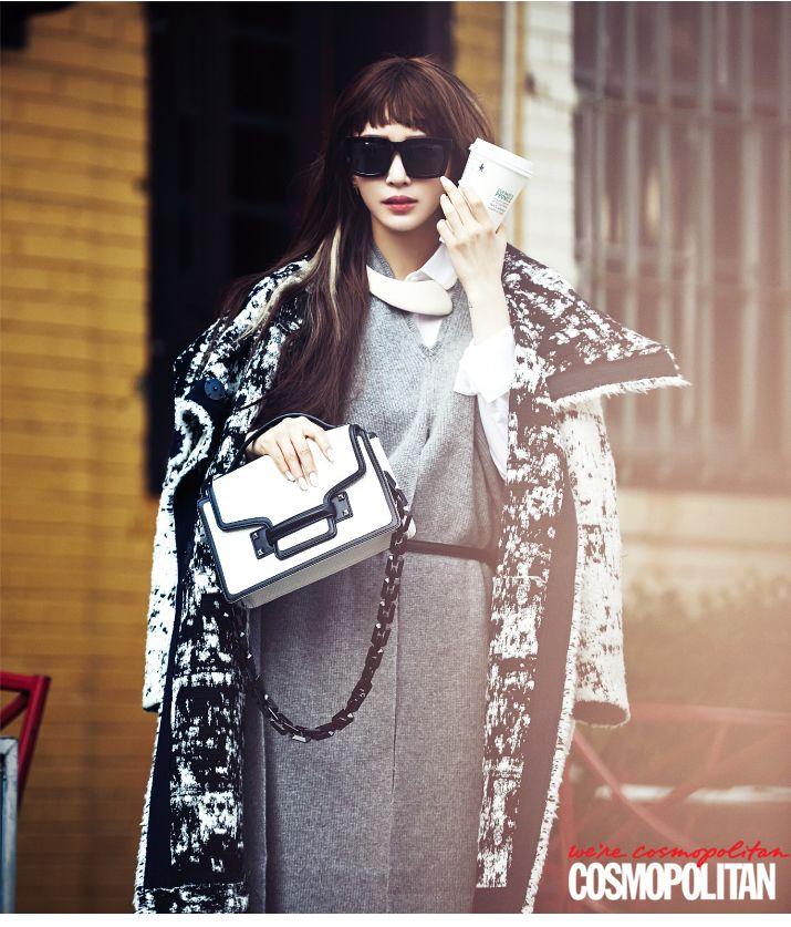 Han Ye Seul X DECKE for Cosmopolitan Korea November 2014