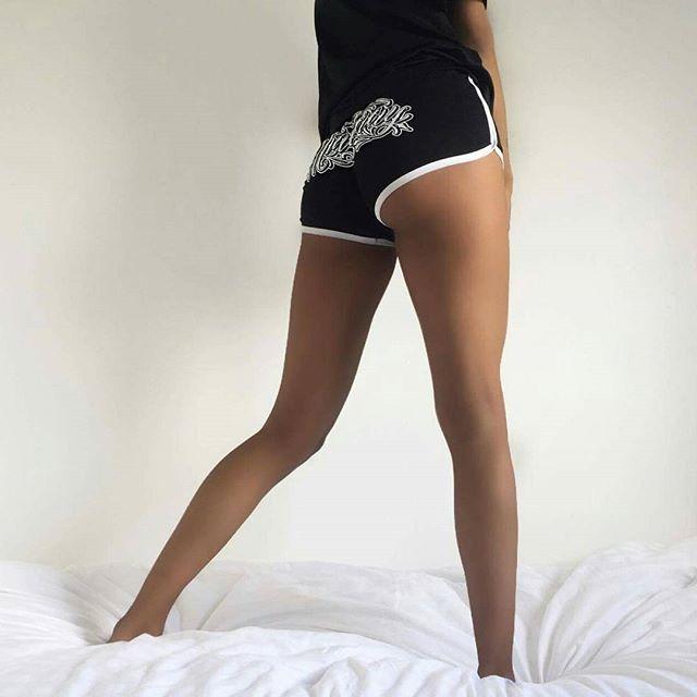"""Murderous"" Gym Shorts available at www.crmc-clothing.co.uk | WE SHIP WORLDWIDE  Model - @dionnetipton  #vixen #gymshorts #oowee #alternative #shorts #fashionstatement #stunning #lit #fashionista #womenswear #booty #bootyshorts #blackmodel #blackgirlsrock #beautifulblackwomen #cute #instacute #beautiful #dailyfashion #styles #style #raven #model #occult #instagrammers #instalike #instalove #igers #love #instagood"