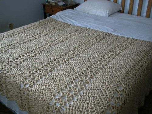 Grandma's Lacy Ripple - Free Pattern I Love this :) Would Be a Cherished Memory for Someone.