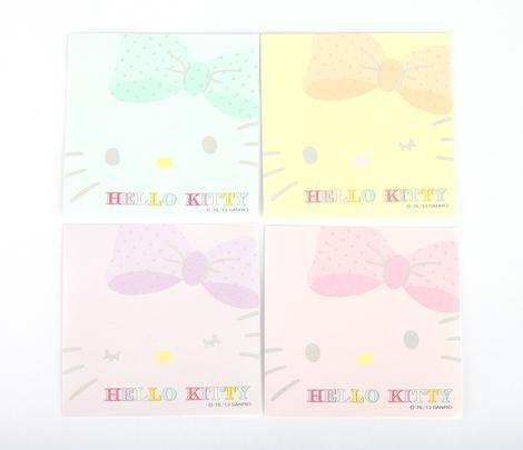 Hello Kitty Block Pad Notes: Polka Dot. Office SuppliesEnvelopeHello ...