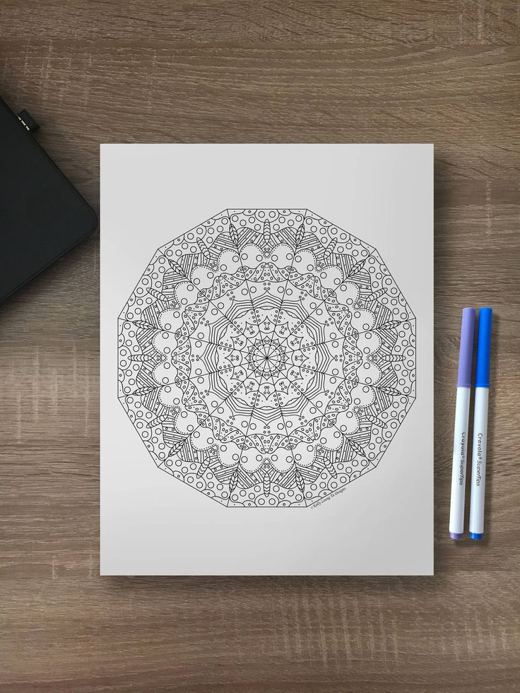 Best 25 Geometric Coloring Pages Ideas On Pinterest