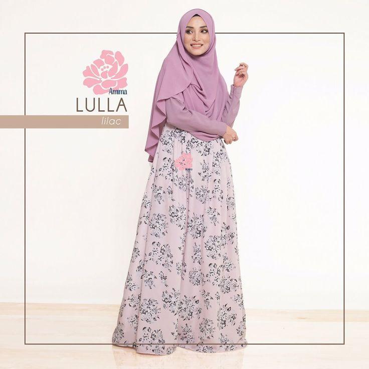 Gamis Amima Lulla Dress Lilac - baju muslim wanita baju muslimah Untukmu yg cantik syari dan trendy . . Size: XS ---> LD 92 P 135 S ---> LD 96 P 137 M ---> LD 100 P 139 L ---> LD 104 P 141 XL ----> LD 112 P 144 . . - Material bahan : crystal crepe hq printing for amima (dengan furing katun arrow lembut)  crepe polos Nyaman digunakan seharian bahannya jatuh dan flowy - Dress yang simpel cocok untuk daily - acara formal potongan bawah dada dengan warna soft pastel - Bagian badan dress polos…