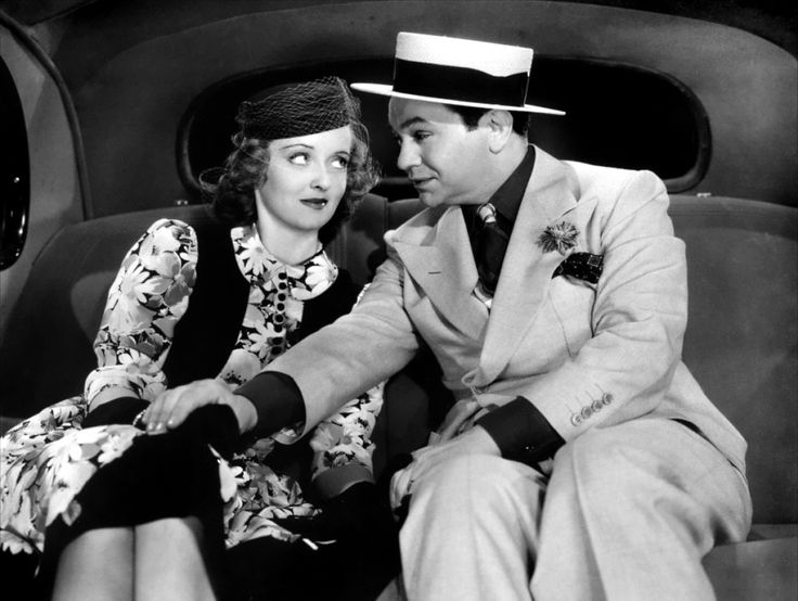 Bette Davis and Edward G. Robinson in Kid Galahad directed by Michael Curtiz, 1937