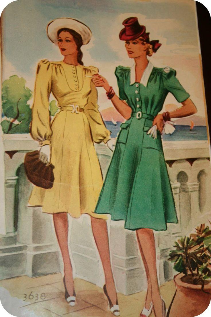 1940s Day Wear: 25 Best Ideas About 1940s Day Wear On Pinterest