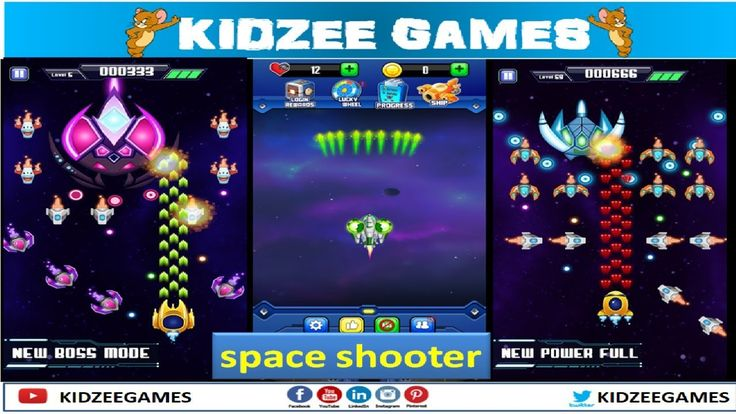 space shooter games free to play and watch