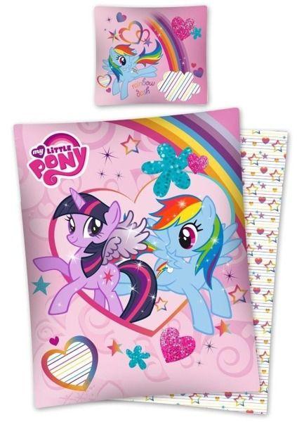 Dievčenské Posteľné Obliečky S Motívom Rozprávky Little Pony