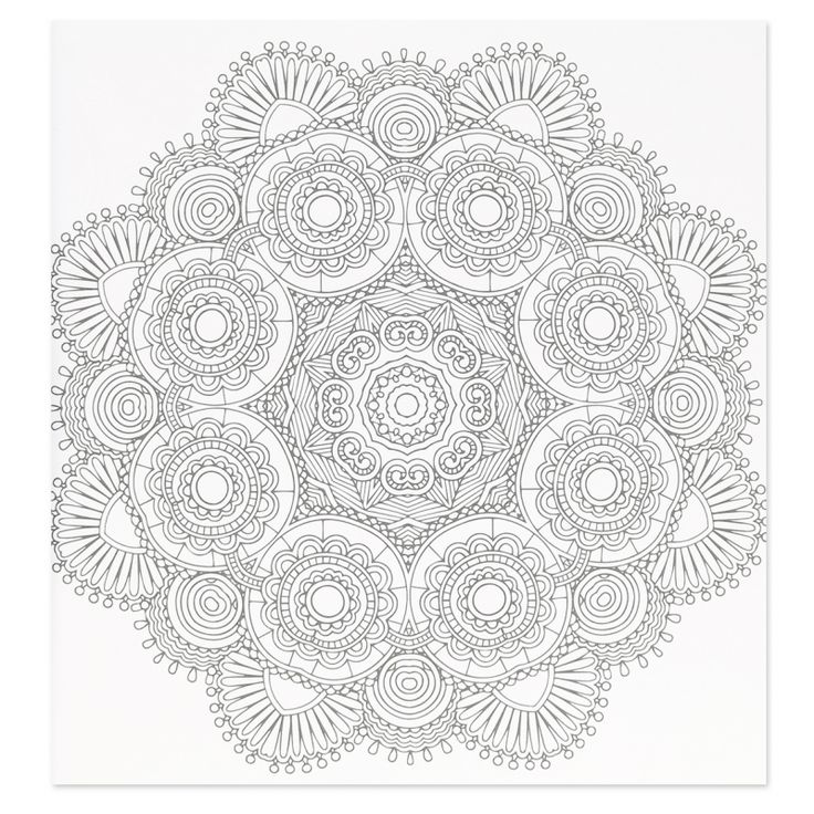 Mandalas Blotter Art T Mandala