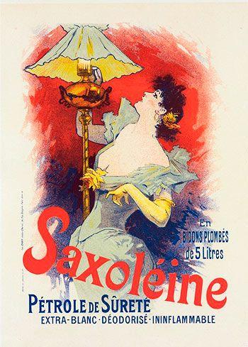 Saxoline. Jules Cheret