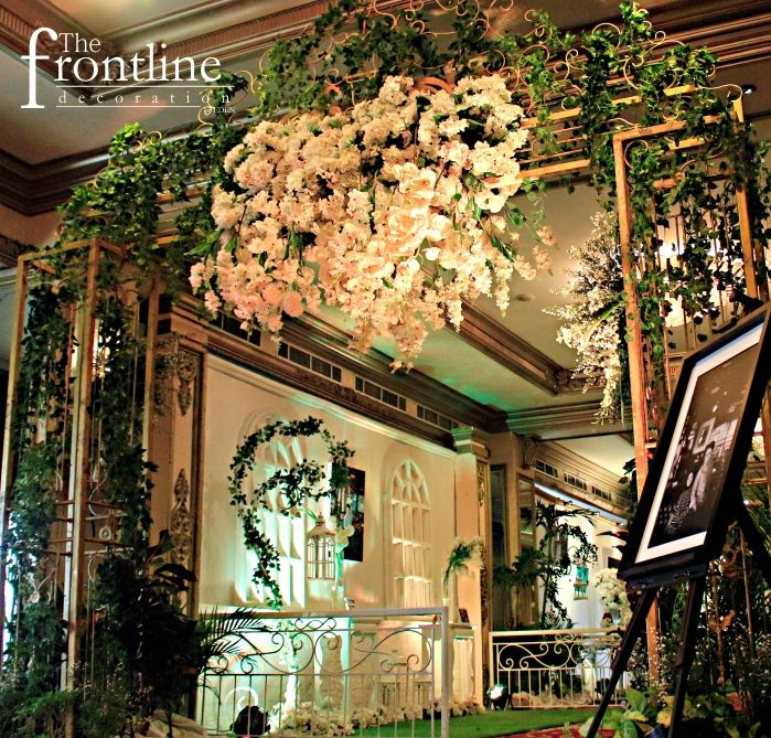 7 best wedding gate decoration images on pinterest gate decoration the wedding of tita anindita palace decorated by eden decoration junglespirit Image collections