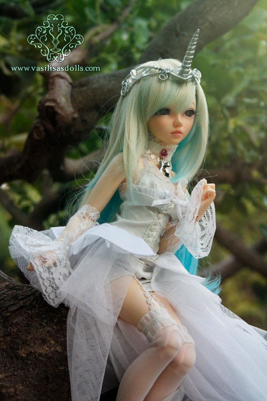 Cute Doll Wallpaper Com Ooak Unicorn Adjustable Tiara For Dolls Bjd Pullip