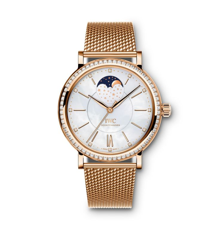 Ready to sparkle during this Holiday Season with the IWC Portofino Automatic Moon Phase 37. Add it to your wish list!