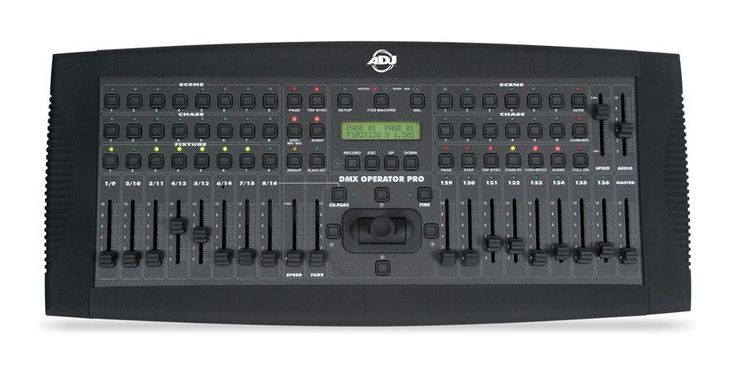 American DJ DMX Operator Pro 2-in-1 DMX Controller up to 192 channels #AmericanDJ