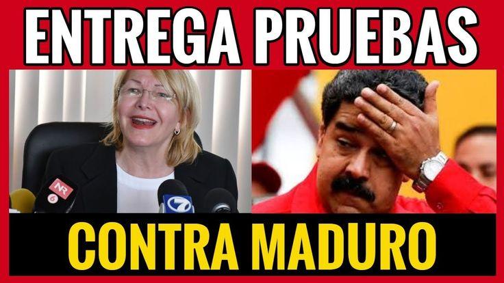 LUISA ORTEGA DIAZ ENTREGA 1600 PRUEBAS CONTRA MADURO, ULTIMAS NOTICIAS H...