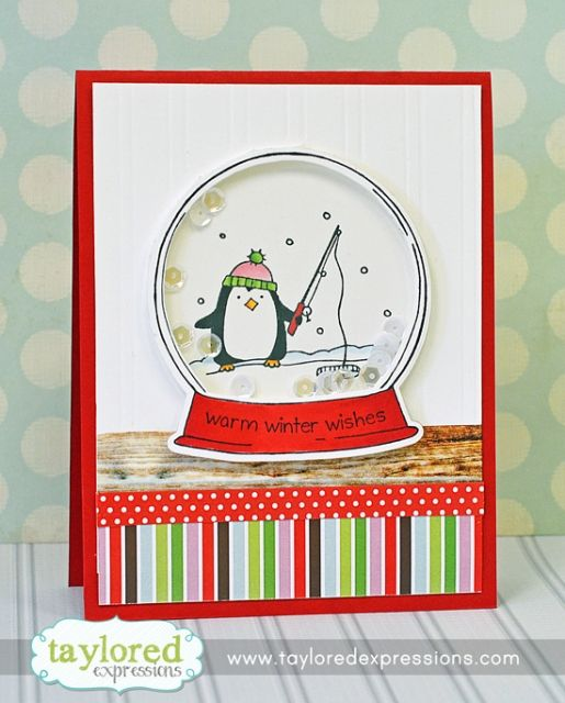 Warm Wishes Card by Taylor VanBruggen #Caradmaking, #Christmas, #TEMatched