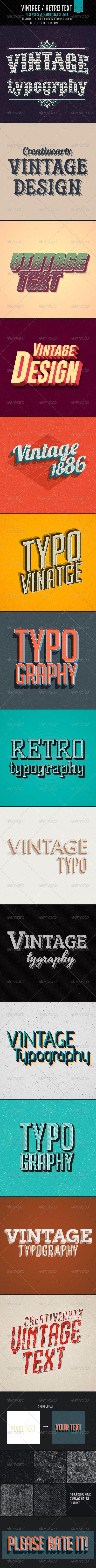 Vintage/Retro Text Col2