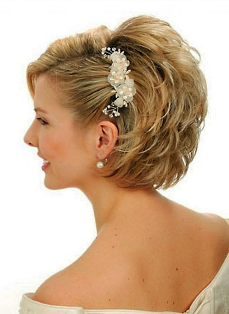 Short Wedding Hairstyles That Makes You Princess