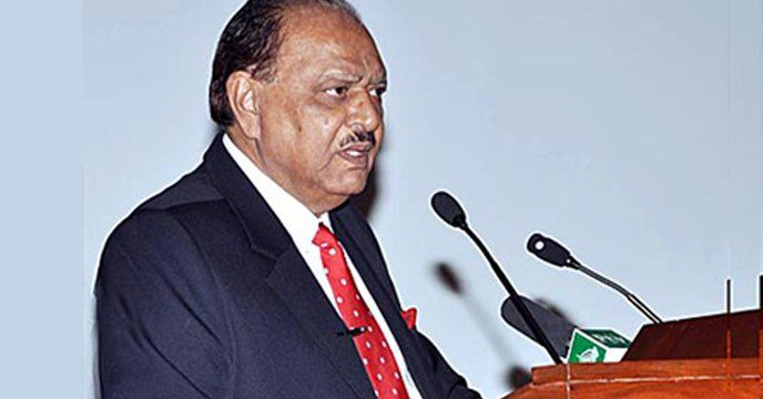 """Islamabad: Pakistan President Mamnoon Hussain said on Wednesday that the armed forces were """"successfully"""" eliminating terrorism from the country, amid mounting global pressure on Islamabad to deny safe havens to terrorists. US President Donald Trump publicly rebuked Pakistan for allowing safe..."""