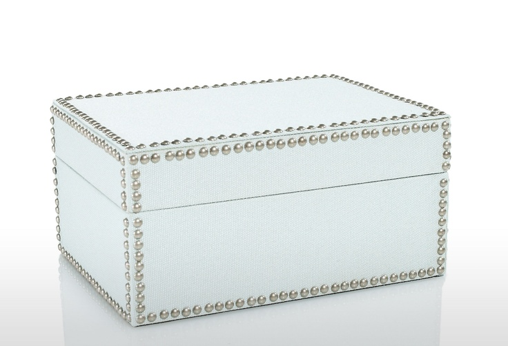 Total DIY project - nailhead box: Projects, Storage Boxes, Color, Desk, Nailhead Trim, Diy, Photo, Craft Ideas, Products