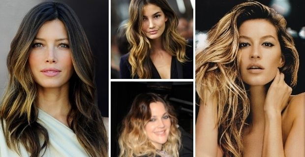 mechas californianas celebrities