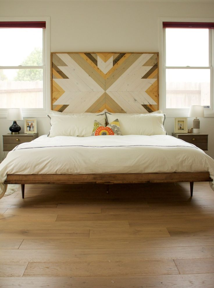 25 best ideas about modern headboard on pinterest for Modern headboard diy