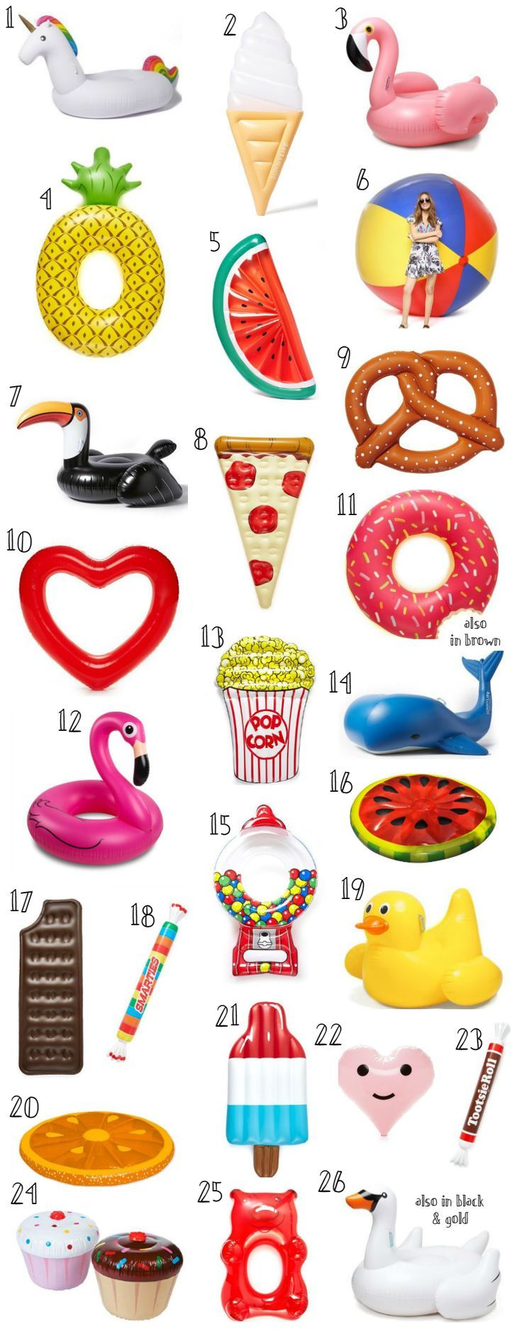 Cute Pool Floats for Adults + Summer Beach Essentials