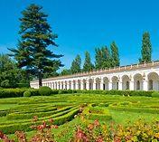 Květná zahrada panoramatické prohlídky