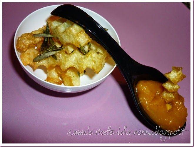 Le Ricette della Nonna: Patate fritte con aglio fresco e rosmarino alla cr...