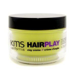 KMS California Hair Play Clay Creme (Matte Sculpting & Texture) - 125ml/4.2oz by KMS California - Hair Play. $14.56. 125ml/4.2oz. A creative clay crème Helps shape & control layered looks & short styles Offers a strong pliable hold & incredible matte finish Adds abundant texture to hair Formulated with natural extracts of Grape & Peppermint for anti-free radical & anti-oxidant benefits Creates an effective barrier on hair against environmental aggressions Perfect for...