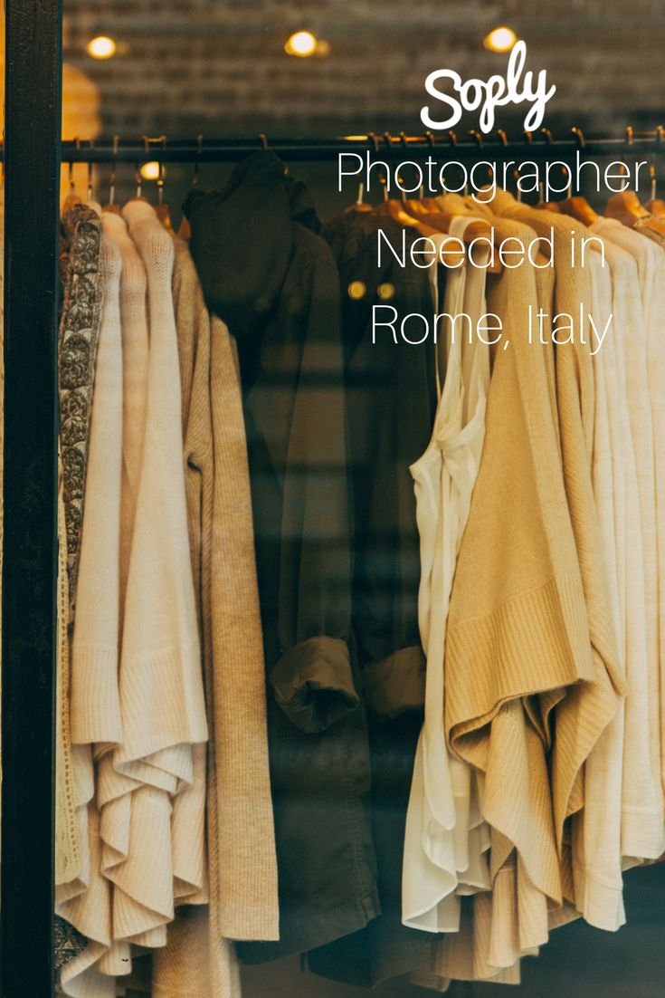 #Photographer needed to #photograph a #clothing #collection for an #independent #fashion #designer. See the #Photography job and apply by clicking the pin!