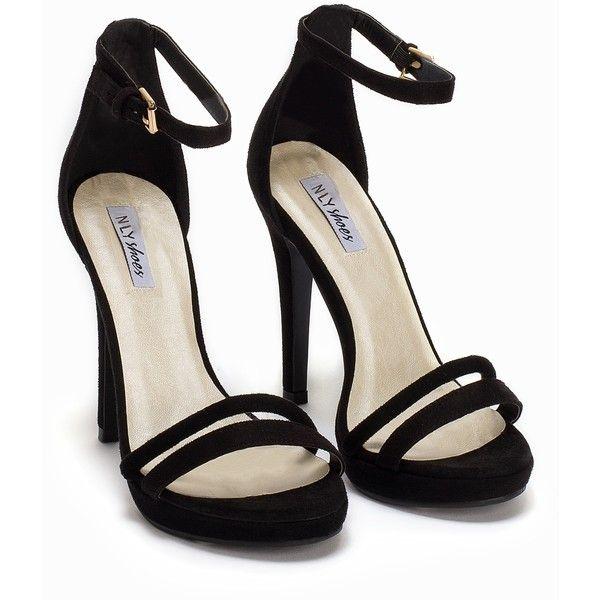 Best 25  Black strap heels ideas on Pinterest   Strappy shoes ...