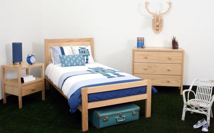 Such a cute little kids bed!