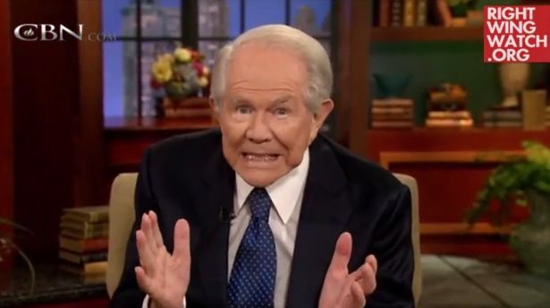 "Diagnosis: Demons. Televangelist Pat Robertson recently advised a mother that the stomach pains suffered by her son are the result of demonic possession, and that she should seek out someone experienced in ""spiritual warfare"" to cast out those pesky demons."