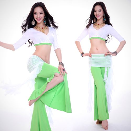 Тренировочный костюм для танца живота. Разные цвета