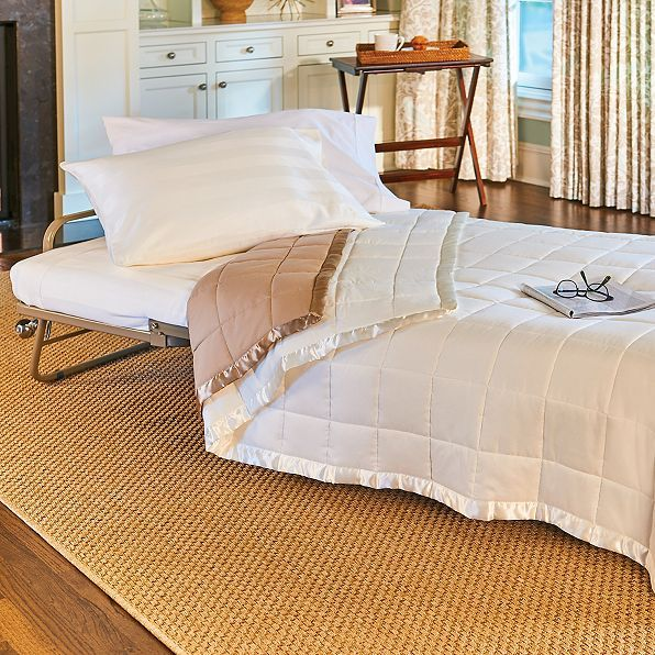 Bedford Deluxe Sleeper Ottoman Guest Bed | Improvements Catalog