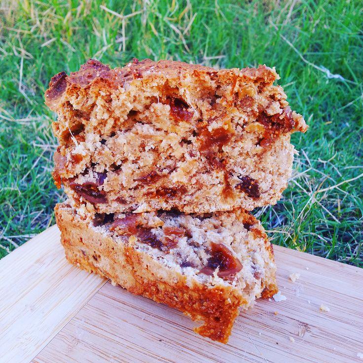 Delicious Fig & Ginger Bread - vegan