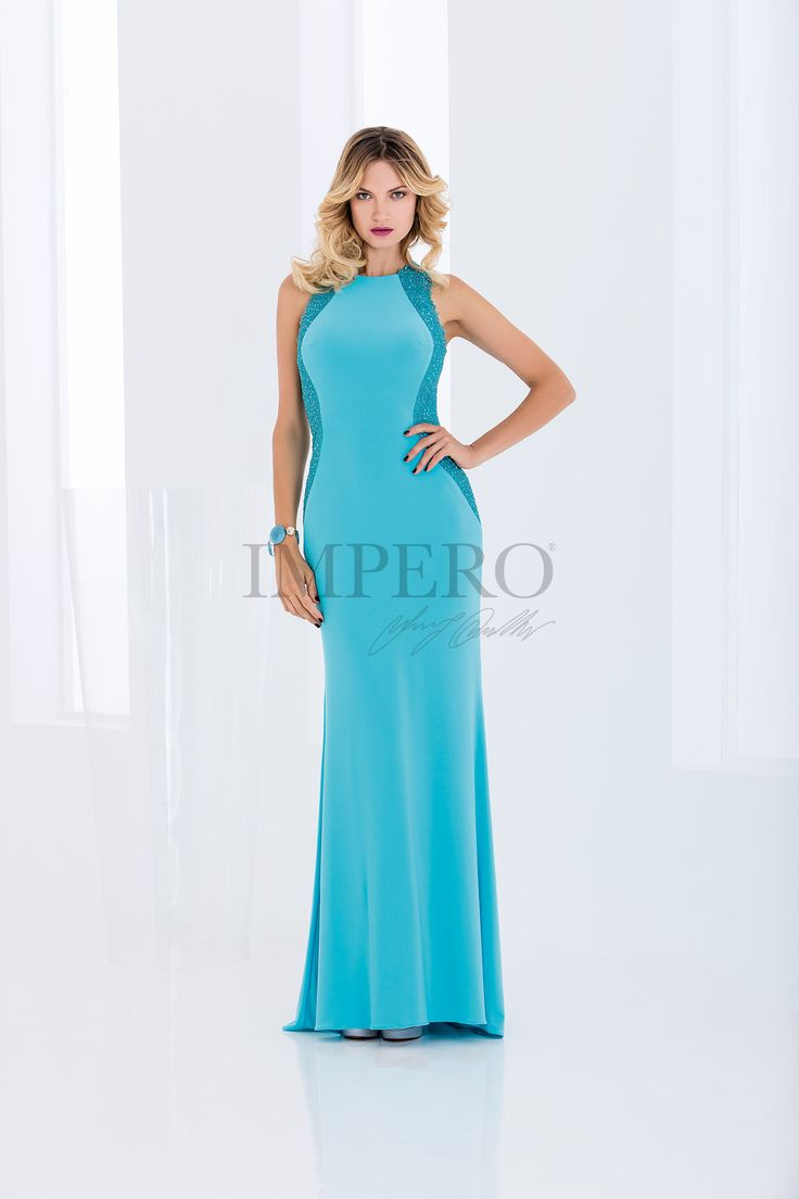 DS 2001L #abiti #dress #wedding #matrimonio #cerimonia #party #event #damigelle #turchese #turquoise