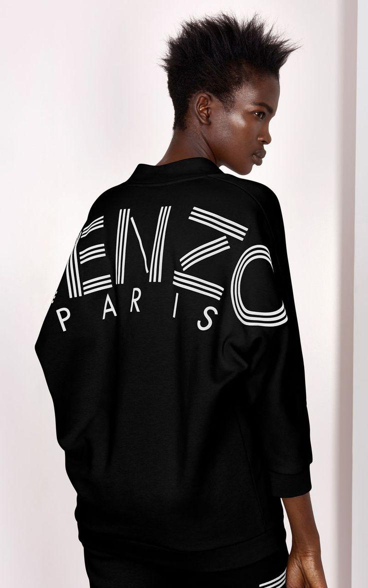 KENZO Sweatshirt, BLACK, KENZO