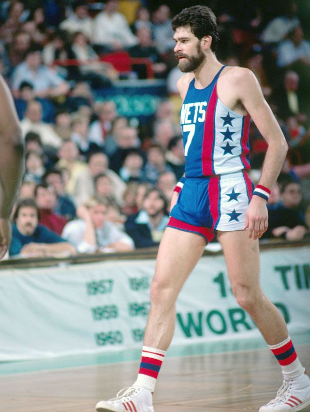 legendary NBA coach Phil Jackson spent his final two seasons in New Jersey as part of the Nets before retiring in 1980. (Dick Raphael/NBAE via Getty Images)