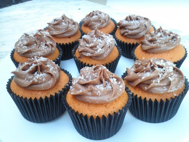 Azúcar y Purpurina: Cupcakes de Calabaza con Chocolate.....Ñam!