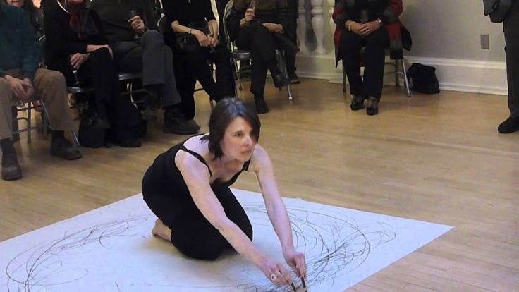 Live Drawing/Dance performance : Wind and Light with Peerna and Thornquist