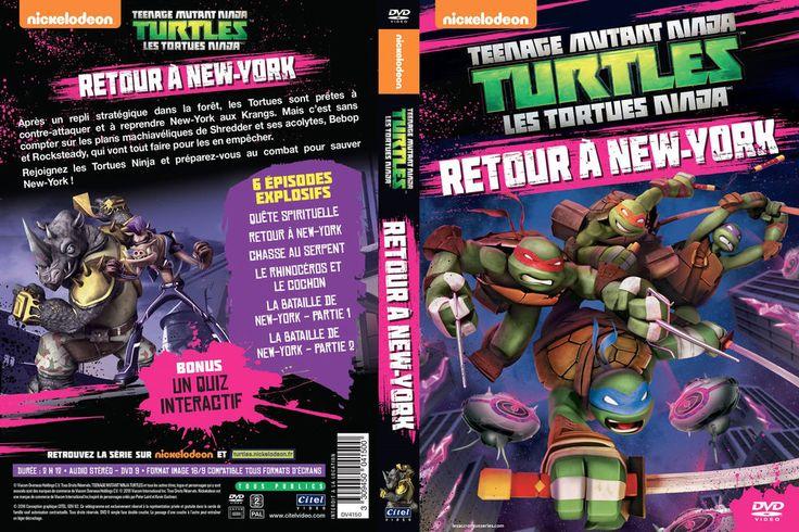 Les Tortues Ninja - Vol. 10 : Retour à New York (2012) - DVD Teenage Mutant Nin