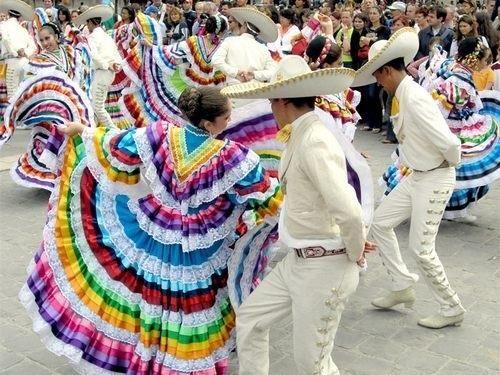 Национальный костюм мексики женский
