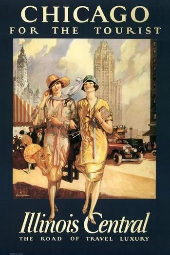 Chicago. Vintage poster