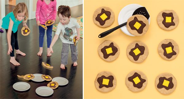 Pancake Party game to sew