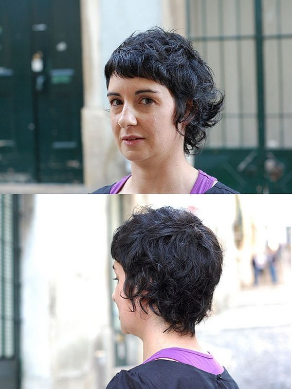 cool haircut curly 40 Awesome Short Haircuts For Curly Hair