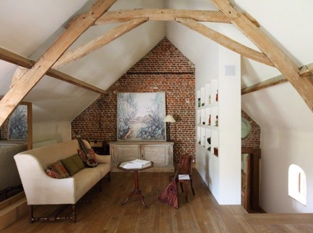 138 best attic master suites images on pinterest for Chambre parentale