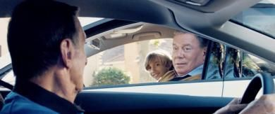 News - Trek legends William Shatner and Leonard Nimoy reunite for a charming Volkswagen Germany commercial. Check it out at StarTrek.com.