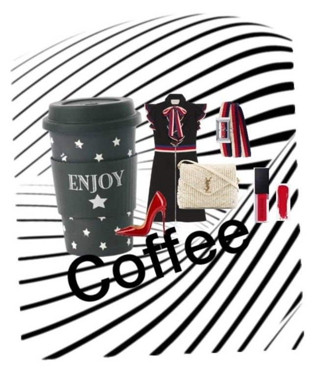 """Take a coffee"" by vicmarket on Polyvore featuring moda"